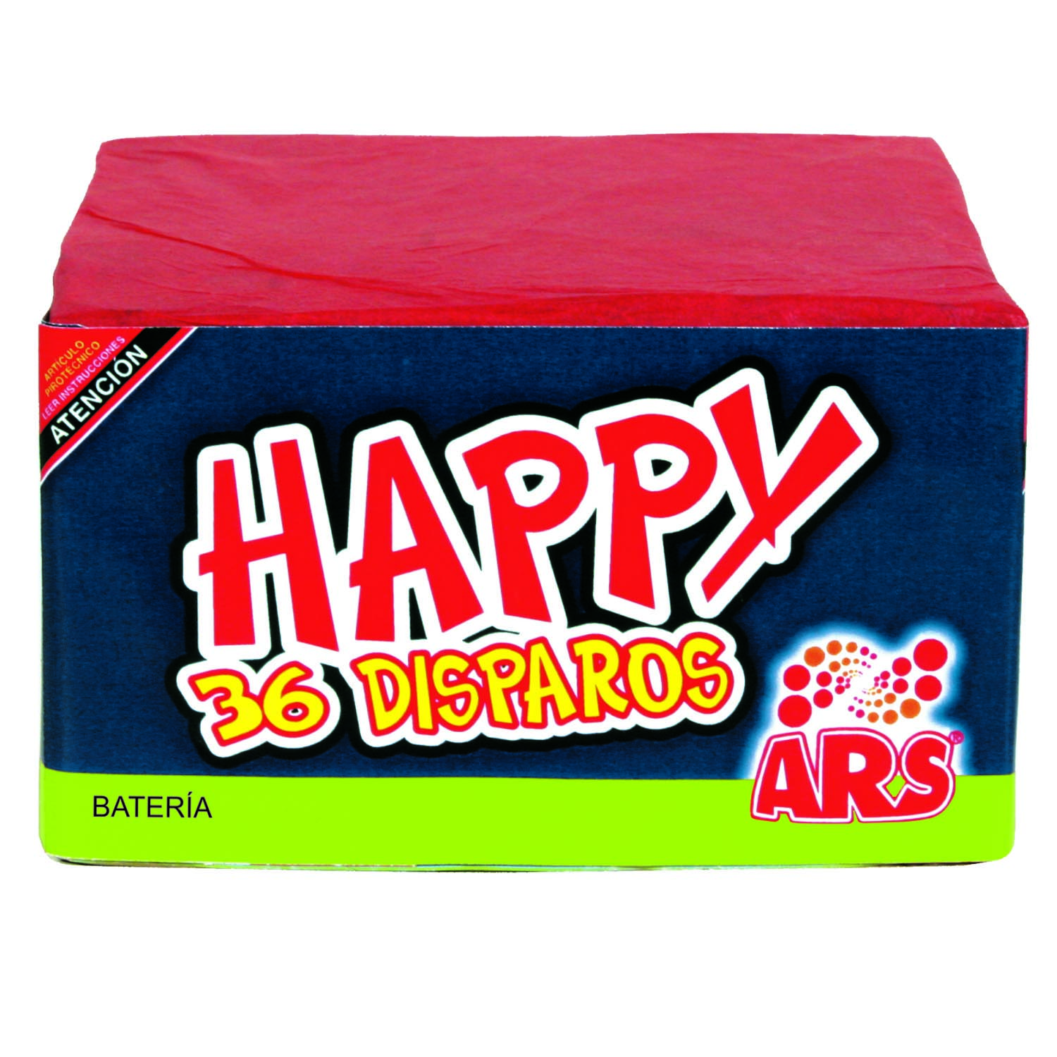Bateria 36 disparos Happy