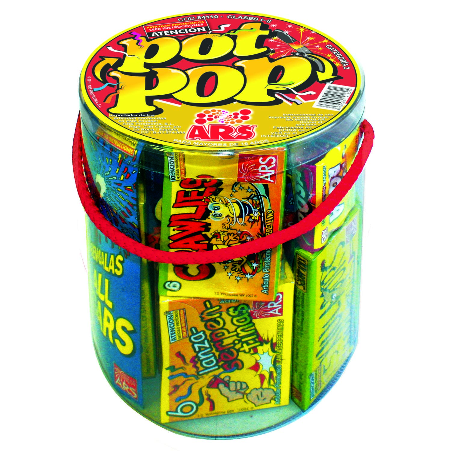 Bote pot pop